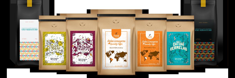 Nossos cafés